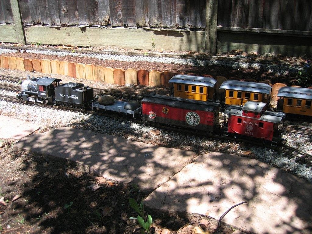 backyard railroad img railroad and train picture gallery
